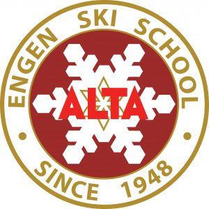 Alta Alf Engen Ski School Logo